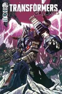 Transformers Galaxies #11 CVR B Milne