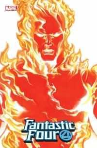 Fantastic Four #24 Variant Alex Ross Human Torch Timeless