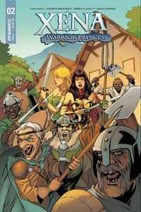 Xena Warrior Princess #2 CVR B Lupacchino