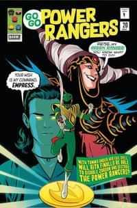 Go Go Power Rangers #20 CVR B Preoder Mok