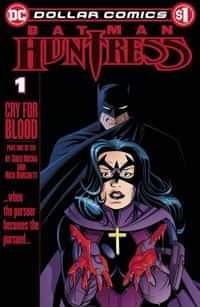 DC Dollar Comics Batman Huntress Cry For Blood #1