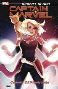 Marvel Action Captain Marvel TP Cat-tastrophe