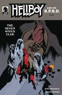 Hellboy and the BPRD the Seven Wives Club CVR B Mignola