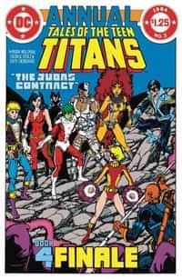 DC Dollar Comics Tales Of The Teen Titans Annual #3