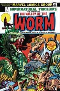 True Believers One-Shot Conan Serpent War #0 Valley Of Worm