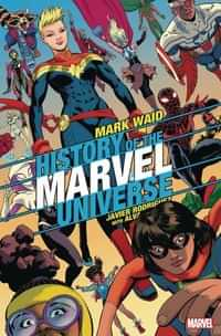 History of Marvel Universe #6 Variant Rodriguez
