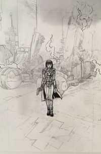 Blade Runner 2019 #5 CVR D Pop Virgin Sketch