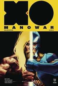 X-O Manowar HC Matt Kindt Deluxe Edition V2