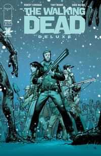 Walking Dead #5 Deluxe Edition CVR B Moore and Mccaig