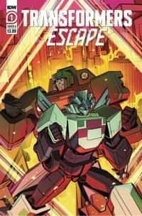 Transformers Escape #1 CVR A Mcguire-smith