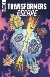 Transformers Escape #1 CVR B Winton Chan