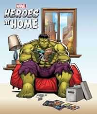 Heroes At Home #1 Variant Ron Lim
