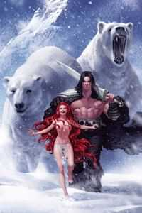 Cimmerian Frost Giants Daughter #1 CVR B Yoon