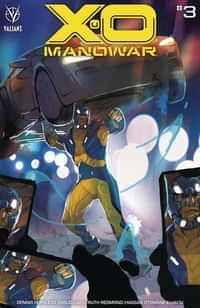 X-O Manowar #3 CVR A Ward