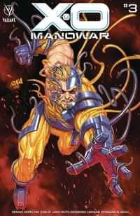 X-O Manowar #3 CVR B Nakayama