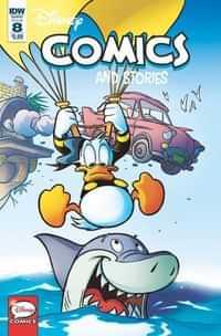 Disney Comics and Stories #8