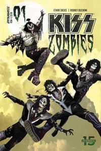 Kiss Zombies #1 CVR A Suydam