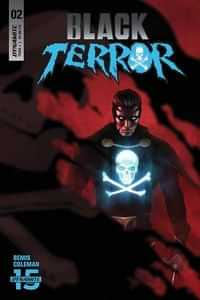 Black Terror #2 CVR A Rahzzah