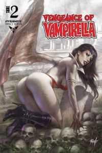 Vengeance of Vampirella #2 CVR A Parillo