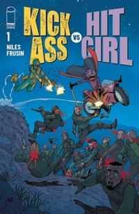 Kick-ass Vs Hit-girl #1 CVR D Araujo
