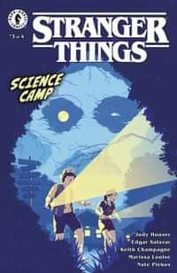 Stranger Things Science Camp #3 CVR B Allen