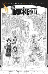 Locke and Key Sandman Hell and Gone #1 Variant 10 Copy Bandw Rodrique