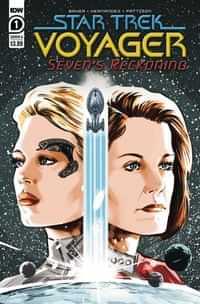 Star Trek Voyager Sevens Reckoning #1 CVR A Hernande