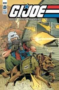 GI Joe #277 A Real American Hero CVR B Sl Gallant