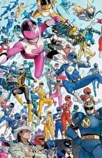 Power Rangers #1 Variant 10 Copy Mora