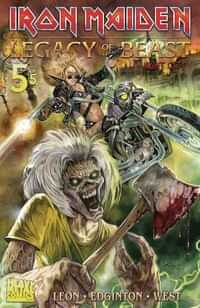 Iron Maiden Legacy of the Beast #5 Night City