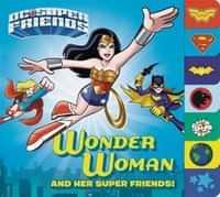 DC Super Friends HC Wonder Woman Board Book