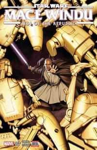 Star Wars Jedi Republic Mace Windu #1