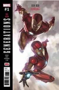 Generations One-Shot Iron Man and Ironheart