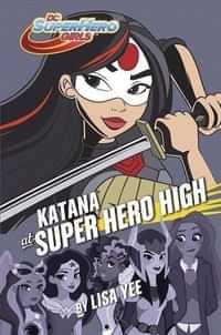 DC Super Hero Girls HC Katana at Super Hero High