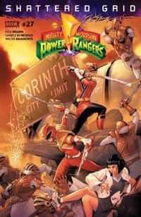 Mighty Morphin Power Rangers #27 CVR A