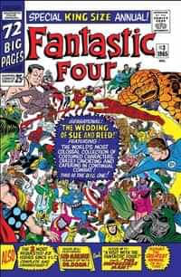 True Believers Fantastic Four One-Shot Wedding Reed and Sue