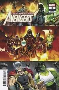 Avengers #3 Second Printing