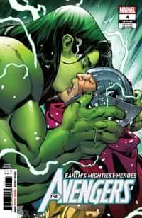 Avengers #4 Second Printing