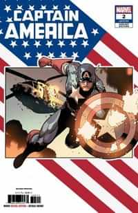 Captain America #2 Second Printing