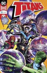 Titans #25 CVR A