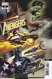 Avengers #6 Second Printing
