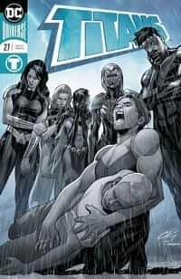 Titans #27 CVR A Foil