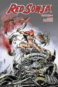Red Sonja #22 CVR C Mandrake