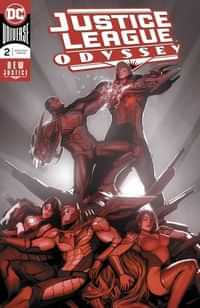 Justice League Odyssey #2 CVR A Foil