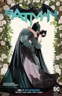 Batman TP Rebirth the Wedding