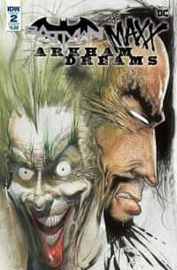 Batman the Maxx Arkham Dreams #2 CVR B