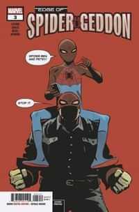 Edge of Spider-Geddon #3 Second Printing