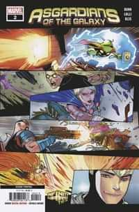 Asgardians of the Galaxy #2 Second Printing