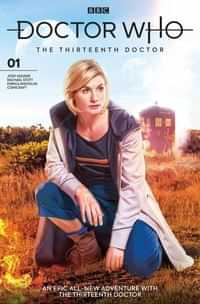 Doctor Who 13th #1 CVR B