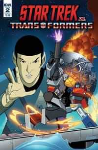 Star Trek Vs Transformers #2 CVR B Ferreira
